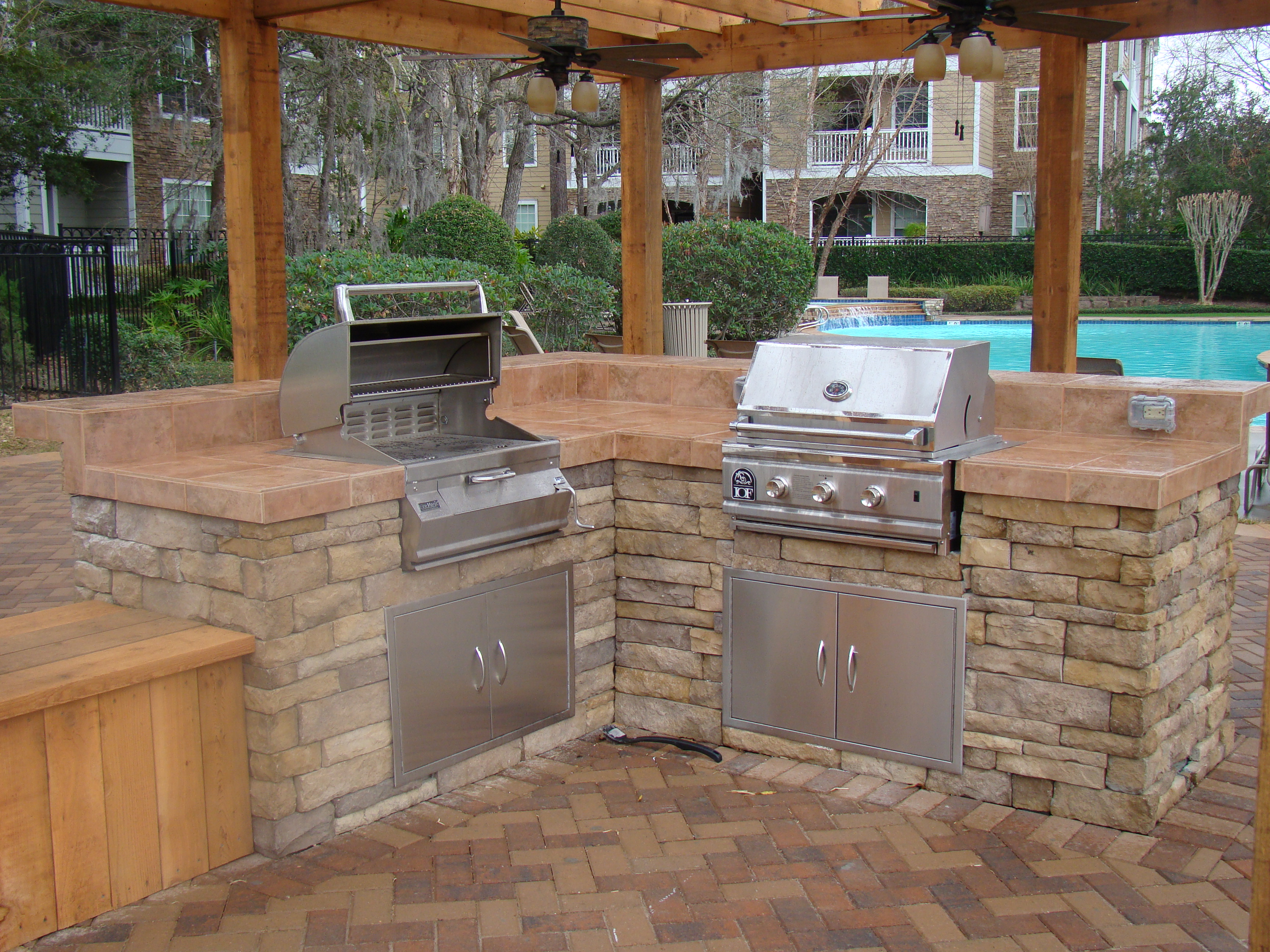 perfect design patios outdoor kitchens