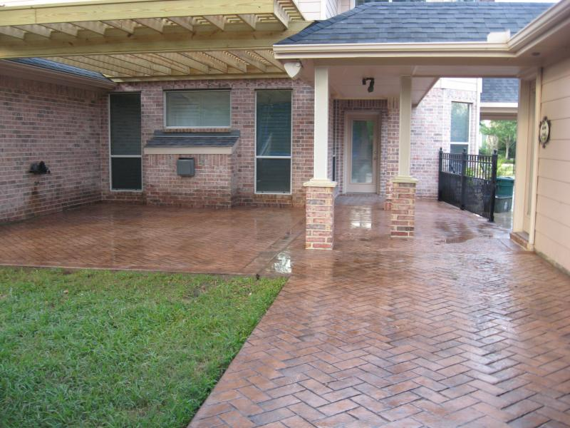 Stamped Concrete / Pavers