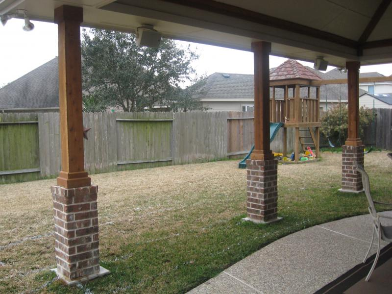 perfect design patios before and after